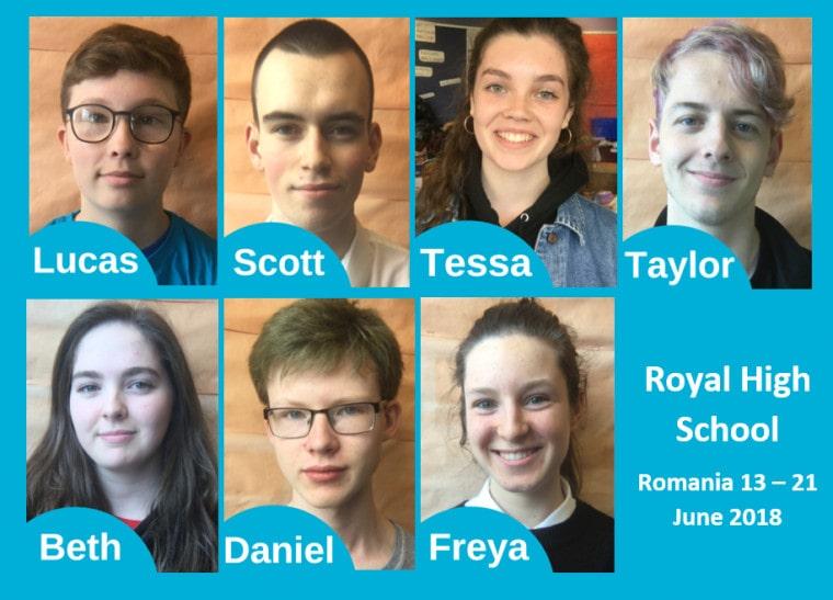 Royal High School Volunteering Group