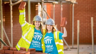 Women Build barratt homes GB great britain