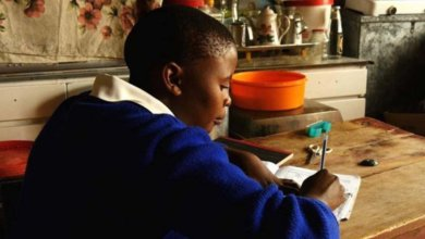 Orphans schooling in Lesotho