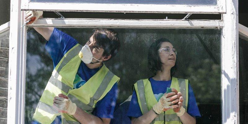 renovating women's refuge in london
