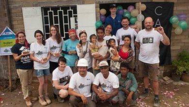 CALA Volunteers and Family Cambodia
