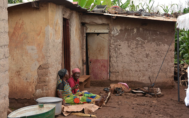 Relative poverty in east Africa