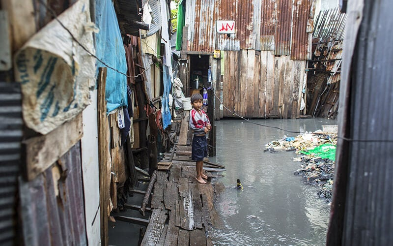 Housing poverty in Asia