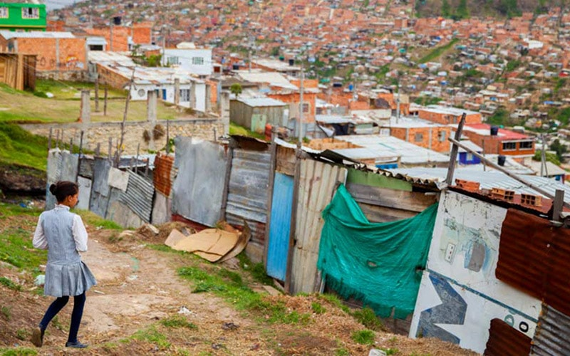 slums in colombia