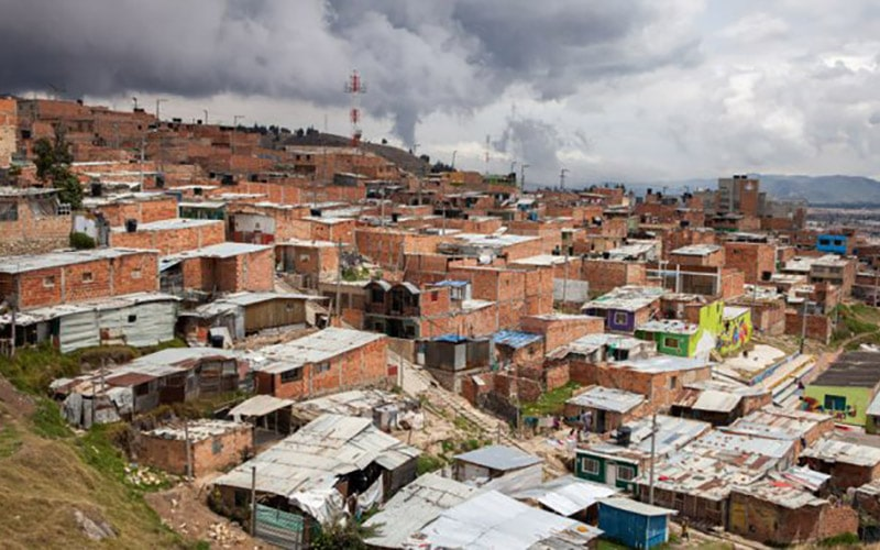 Colombia's slum housing