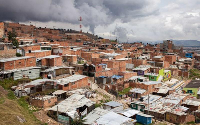 Colombia's slum housing