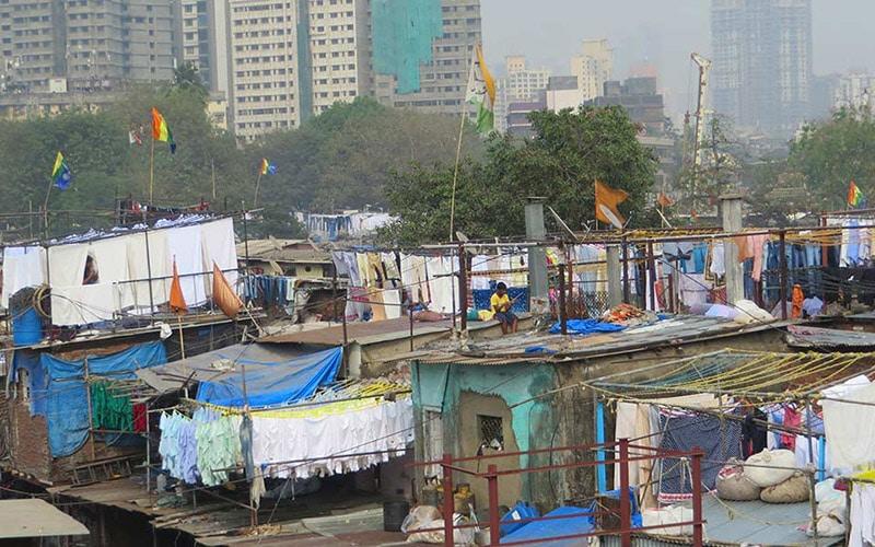 shacks in India's slums