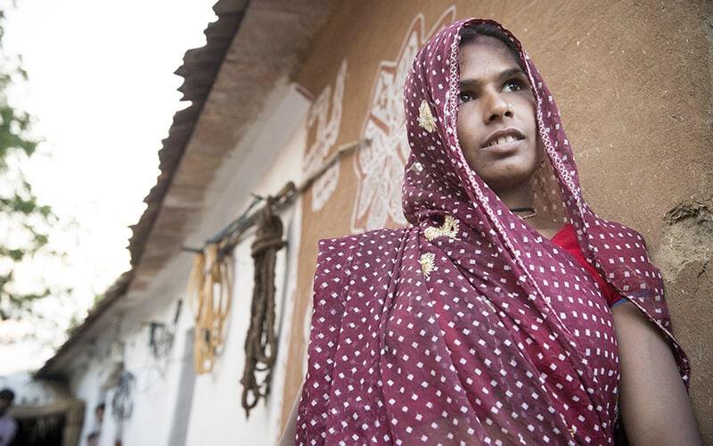 Female headed households India