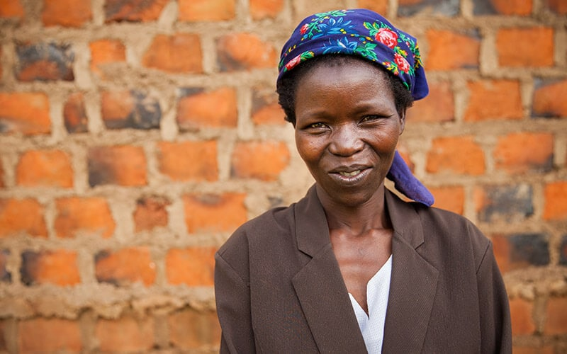 Women affected by poverty in Kenya