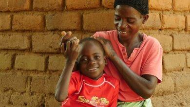 Habitat beneficiaries in Malawi