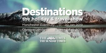 visit us at the destinations show