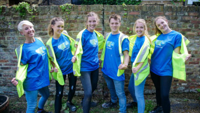P&G volunteer team corporate values