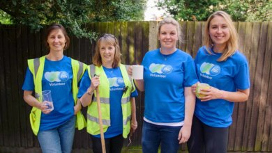 P&G team force for good volunteers