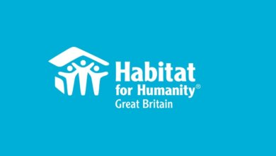 Habitat for Humanity GB blue logo