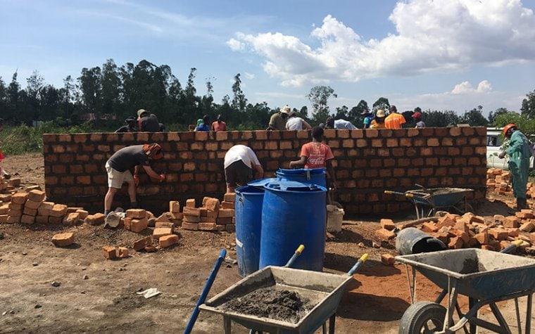 Homes for Scotland Volunteers in Kenya
