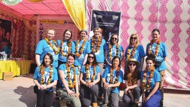 volunteers in india
