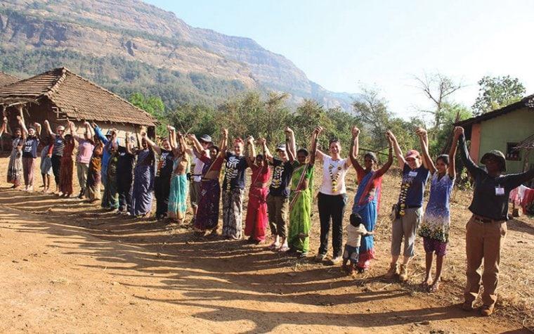 women volunteers in india